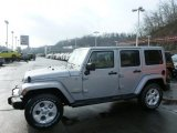 2013 Billet Silver Metallic Jeep Wrangler Unlimited Sahara 4x4 #76499709