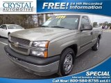 2003 Light Pewter Metallic Chevrolet Silverado 1500 Regular Cab #76499847