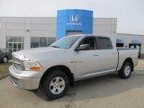 2010 Bright Silver Metallic Dodge Ram 1500 Laramie Crew Cab 4x4 #76499841