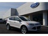 2013 White Platinum Metallic Tri-Coat Ford Escape Titanium 2.0L EcoBoost #76499541