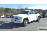 2000 Bright White Dodge Ram 3500 ST Extended Cab 4x4 Dually #76499834