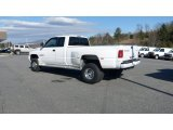 Bright White Dodge Ram 3500 in 2000