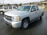 2010 Chevrolet Silverado 1500 LS Extended Cab 4x4 Front 3/4 View