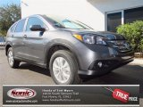2013 Polished Metal Metallic Honda CR-V EX AWD #76499244