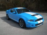 2011 Grabber Blue Ford Mustang Shelby GT500 Coupe #76499955