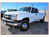 2006 Summit White Chevrolet Silverado 3500 LT Extended Cab 4x4 Dually #76499660