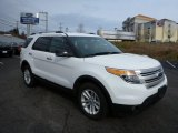 2013 Oxford White Ford Explorer XLT 4WD #76499516