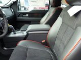 2013 Ford F150 FX4 SuperCrew 4x4 FX Sport Appearance Black/Red Interior