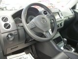 2011 Volkswagen Tiguan SE 4Motion Steering Wheel