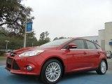 2012 Red Candy Metallic Ford Focus SEL 5-Door #76499468