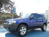 2005 Ford Escape Sonic Blue Metallic