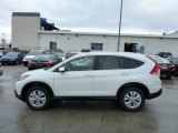 2013 White Diamond Pearl Honda CR-V EX-L AWD #76499895