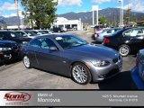 2009 Space Grey Metallic BMW 3 Series 328i Convertible #76499636