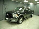 2010 Brilliant Black Crystal Pearl Dodge Ram 1500 TRX4 Quad Cab 4x4 #76500028