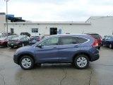 2013 Twilight Blue Metallic Honda CR-V EX-L AWD #76499889