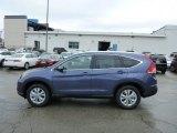 2013 Twilight Blue Metallic Honda CR-V EX-L AWD #76499888