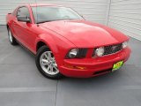 2007 Torch Red Ford Mustang V6 Deluxe Coupe #76499633