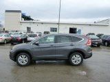 2013 Polished Metal Metallic Honda CR-V EX AWD #76499880