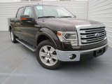 2013 Kodiak Brown Metallic Ford F150 Lariat SuperCrew #76499613