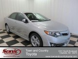 2013 Classic Silver Metallic Toyota Camry SE #76565036
