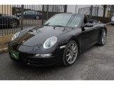 2007 Black Porsche 911 Carrera Cabriolet #76564596