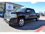 2009 Black Chevrolet Silverado 1500 LT Crew Cab #76564914