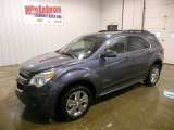 2013 Atlantis Blue Metallic Chevrolet Equinox LT #76565353