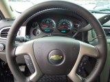 2013 Chevrolet Silverado 1500 LTZ Crew Cab 4x4 Steering Wheel