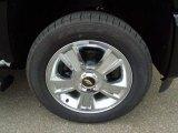 2013 Chevrolet Silverado 1500 LTZ Crew Cab 4x4 Wheel