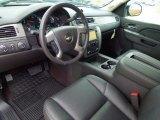 2013 Chevrolet Silverado 1500 LTZ Crew Cab 4x4 Ebony Interior