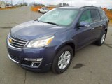 2013 Atlantis Blue Metallic Chevrolet Traverse LT #76565129
