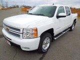 2013 Summit White Chevrolet Silverado 1500 LTZ Crew Cab 4x4 #76565128