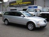 2003 Reflex Silver Metallic Volkswagen Passat GLS Wagon #76564578