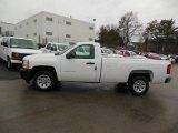 2013 Summit White Chevrolet Silverado 1500 Work Truck Regular Cab #76565331