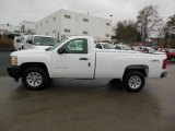 2013 Summit White Chevrolet Silverado 1500 Work Truck Regular Cab 4x4 #76565329