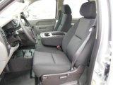 2013 Chevrolet Silverado 1500 Work Truck Crew Cab 4x4 Dark Titanium Interior
