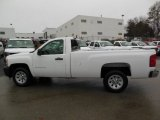 2013 Summit White Chevrolet Silverado 1500 Work Truck Regular Cab #76565324