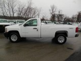2013 Summit White Chevrolet Silverado 1500 Work Truck Regular Cab 4x4 #76565323