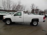 2013 Summit White Chevrolet Silverado 1500 Work Truck Regular Cab #76565322