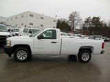 2013 Summit White Chevrolet Silverado 1500 Work Truck Regular Cab #76565320