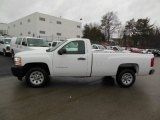 2013 Summit White Chevrolet Silverado 1500 Work Truck Regular Cab #76565318