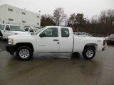 2013 Summit White Chevrolet Silverado 1500 Work Truck Extended Cab 4x4 #76565317