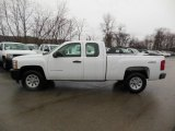 2012 Summit White Chevrolet Silverado 1500 Work Truck Extended Cab 4x4 #76565316