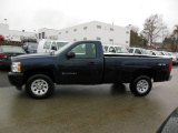2012 Imperial Blue Metallic Chevrolet Silverado 1500 Work Truck Regular Cab 4x4 #76565315