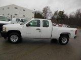 2012 Summit White Chevrolet Silverado 1500 Work Truck Extended Cab 4x4 #76565313