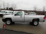 2012 Silver Ice Metallic Chevrolet Silverado 1500 Work Truck Regular Cab 4x4 #76565312