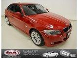 2009 Crimson Red BMW 3 Series 328i Sedan #76564883