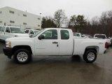 2012 Summit White Chevrolet Silverado 1500 Work Truck Extended Cab 4x4 #76565311