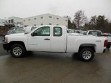 2012 Summit White Chevrolet Silverado 1500 Work Truck Extended Cab 4x4 #76565310
