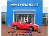 2006 Torch Red Ford Mustang GT Premium Coupe #76564990